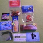 Der Inhalt einer Raubfischbox