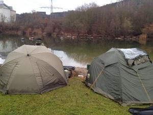 Unser Lager zum Ansitz