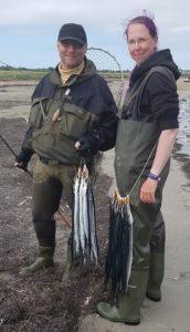 Lany und Arne mit toller Ausbeute